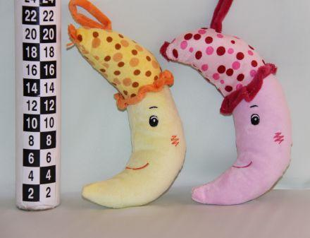 Амек Тойс-Бебешка плюшена играчка банан