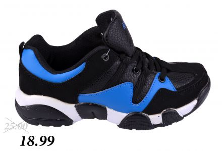 МАТ СТАР SORT 13-10822 Black/ Blue 31-36