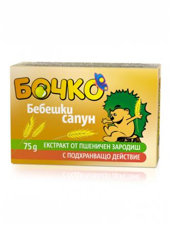 Бочко-Бебешки сапун с пшеничен зародиш 75g