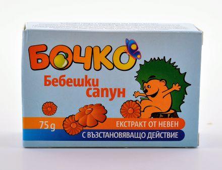 Бочко-Бебешки сапун с екстракт от невен 75g