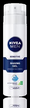 Nivea for Men Sensitive гел за бръснене 200ml