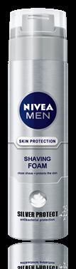 Nivea for Men Silver Protect пяна  за бръснене 200ml