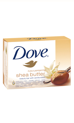 Dove Shea Butter крем-сапун