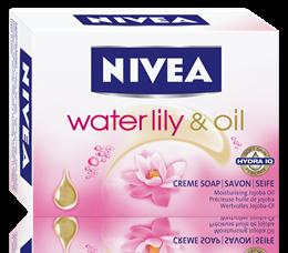 Nivea Waterlily&Oil сапун 100gr
