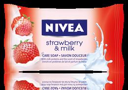 Nivea Strawberry&Milk сапун 90gr