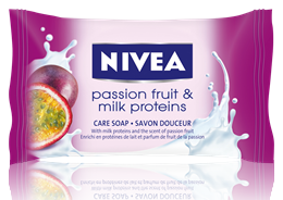 Nivea Passion Fruit&Milk Proteins сапун 90gr