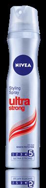 Nivea Ultra Strong лак за коса за ултра силна фиксация 250ml