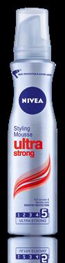 Nivea Ultra Strong пяна за коса за ултра силна фиксация 150ml