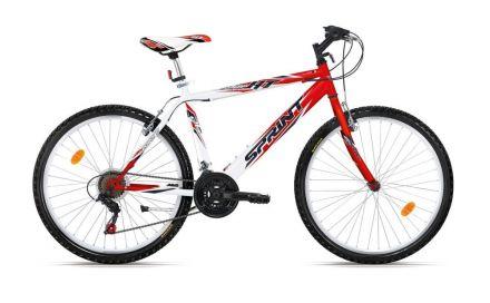 "Велосипед 26"" Sprint Leopard Eco White/Red"