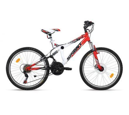 "Велосипед 24"" Sprint Element CH White/Red"