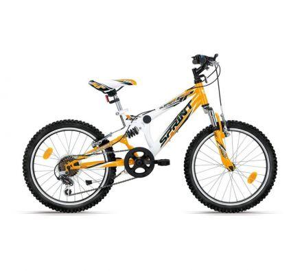 """Велосипед 20"""" Sprint Element Eco White/Mango"""