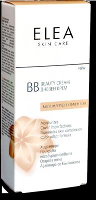 Elea Skin Care BB дневен крем / средно тъмен тон 40ml