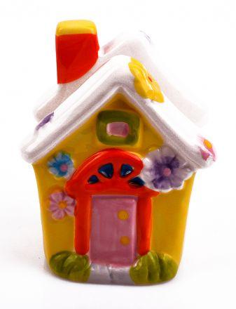 Великденски салфетник къщичка