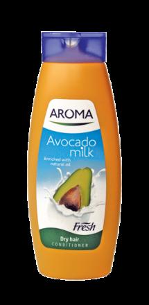 Aroma Fresh Авокадо и Мляко шампоан за суха коса 400ml