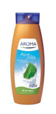 Aroma Fresh Алое шампоан за всеки тип коса 400ml