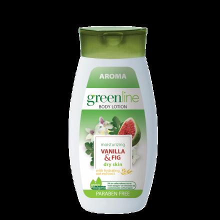 Aroma GreenLine лосион за тяло с екстракт от ванилия и смокиня 250ml