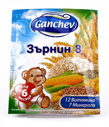 Ganchev-Зърнена каша Зърнин8-6+,50g