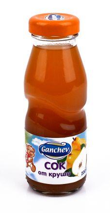 Ganchev-Сок от Круши 200ml, 3+
