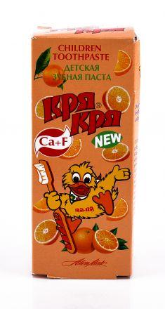 Кря-Кря Портокал -Детска паста за зъби 50ml ,от 3 до 12 год.