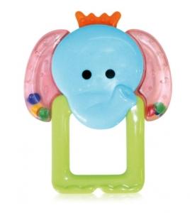 "Baby Care-Успокояваща гризалка""Слонче"" ,0+"