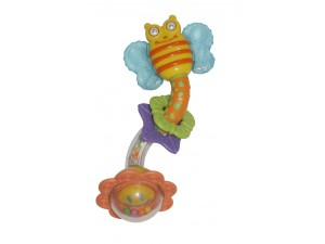 "Baby Care-Бебешка гризалка-дрънкалка""Пчеличка"" 3+"