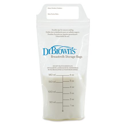 Dr. Brown's-Торбички за съхранение на кърма 25бр.