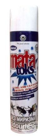 Mata Toks - аерозол против летящи и пълзящи насекоми ,400ml