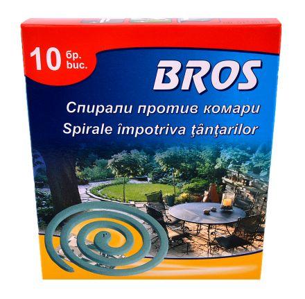 BROS-Спирали против комари-10бр.