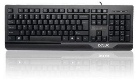 Клавиатура Delux DLK-6010P PS/2
