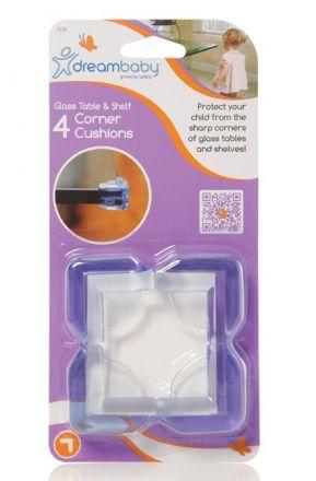DREAM-BABY-Предпазител за ъгли за стъклени маси 4бр.